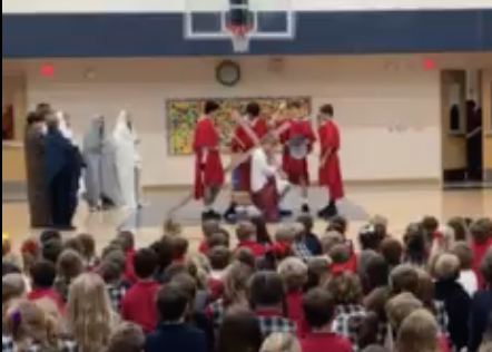 STA's 8th Graders Make Holy Week Come to Life For Lower School Students