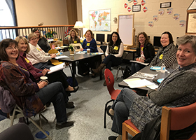 Diocesan Librarian Meeting Hosted by the Lower School